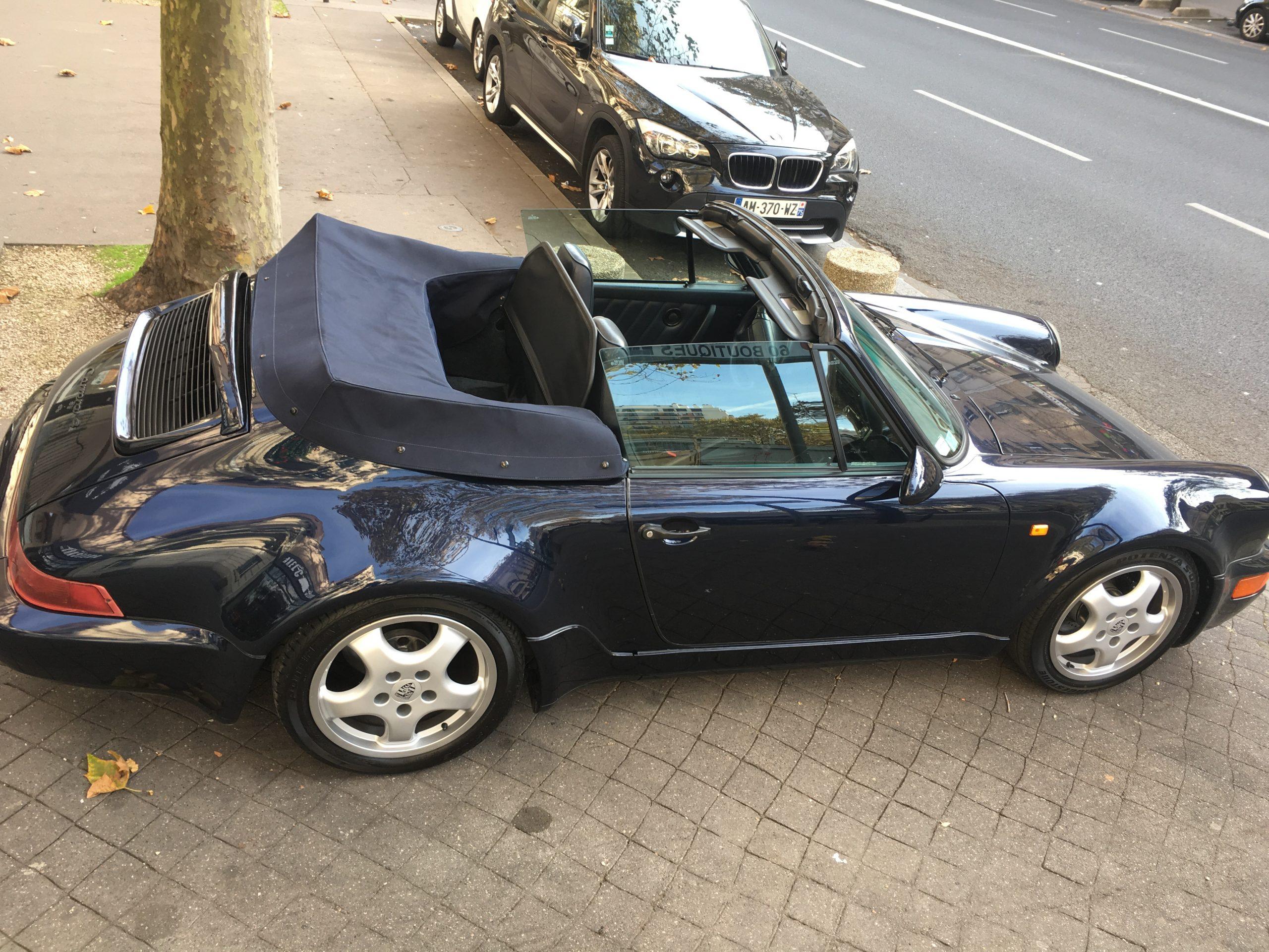 PORSCHE 911 TYPE 964 cabriolet