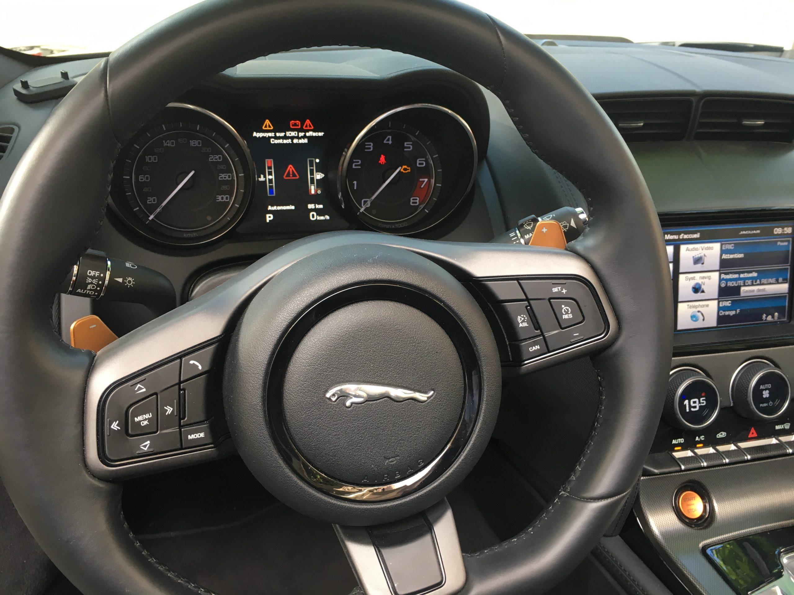 Jaguar F-Type Cabriolet 3.0 V6 380 S BVA8 française