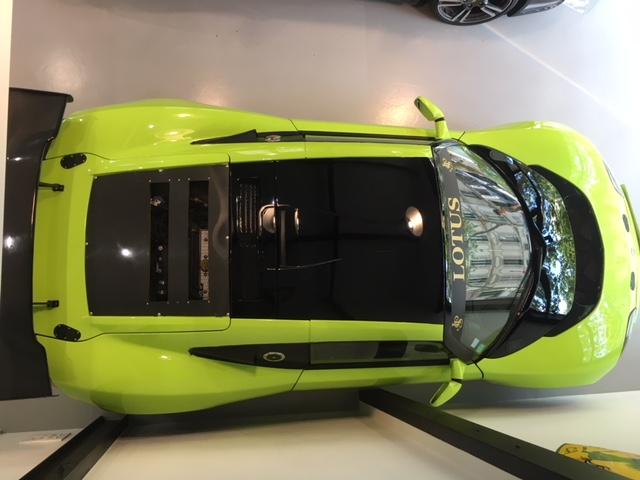 Lotus Europa SE PREPAREE COURSE 250 CHV 870 KG
