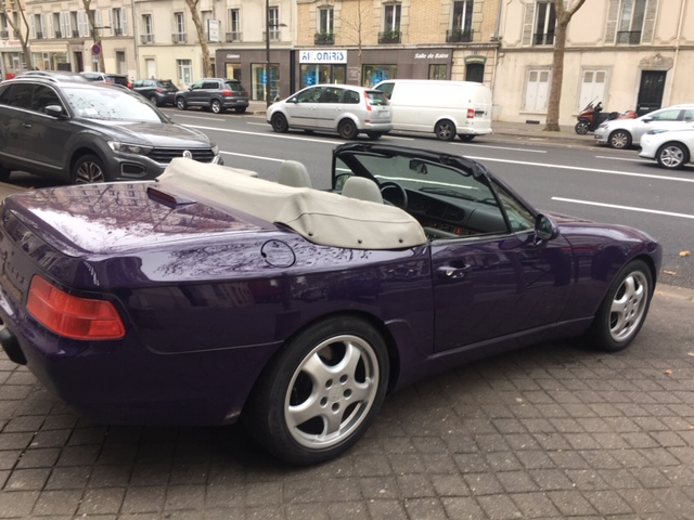 968 cabriolet Roadster 3l 240cv boite auto