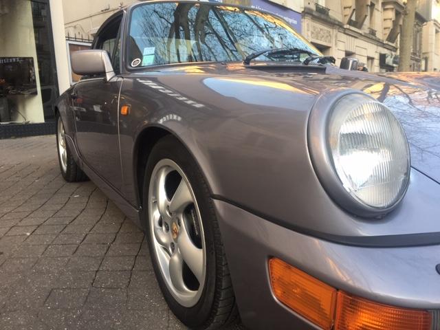 Porsche 911 TYPE 964 (964) 3.6 CARRERA 4 coupé, DIAMOND BLUE,