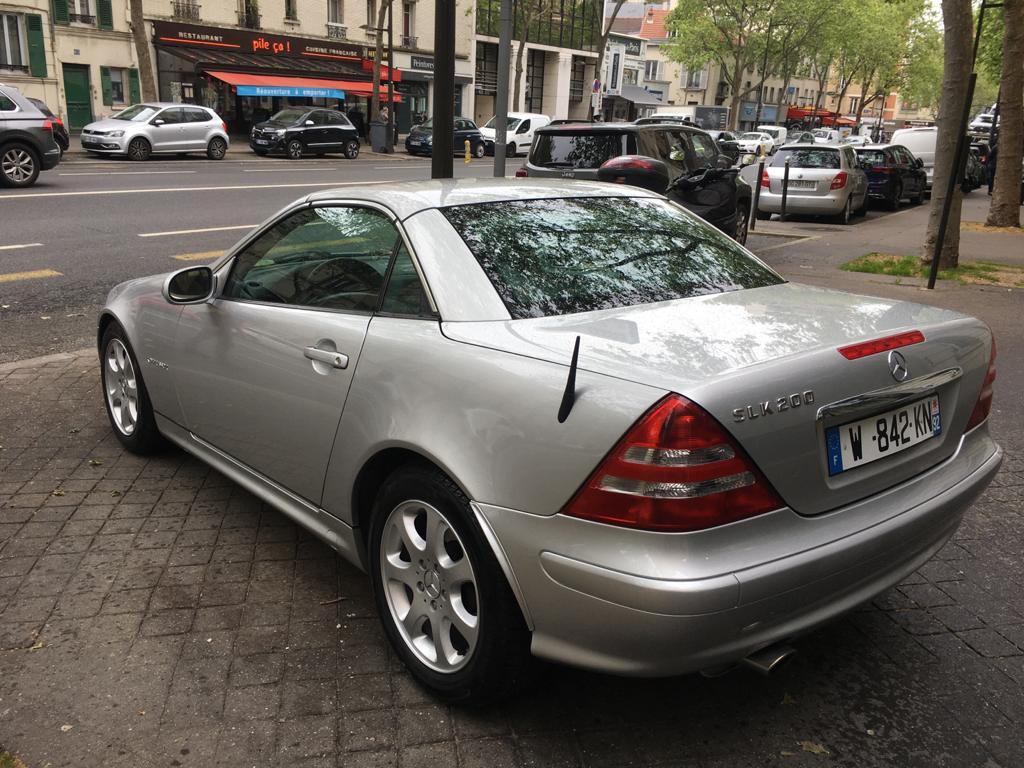 Mercedes SLK 200 Kompressor Final Edition Cabriolet BVA