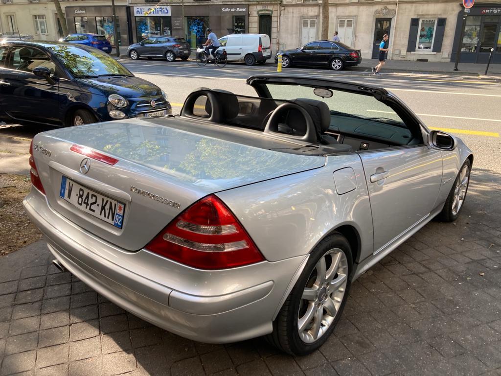 Mercedes Classe SLK 200 KOMPRESSOR Cabriolet BVA 163 CHV
