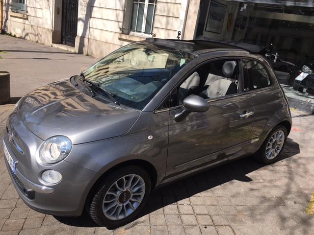 Fiat 500 C 1.2 8v 69 ch Lounge Cabriolet